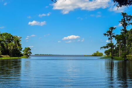 bayou swamp: Bayou to Lake