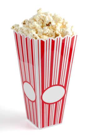 Box of Popcorn Фото со стока