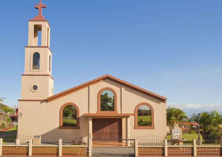 san isidro: Simple Catholic church located in San Isidro de Grecia, Costa Rica