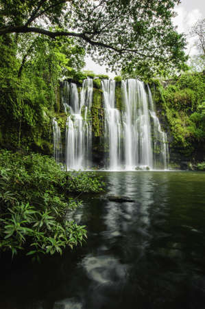 Llanod de Cortez Waterfall located in Costa Rica.