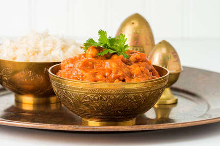 east indian: This East Indian dish consists of chick peas, tomato and onions in a spicy sauce.