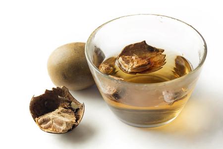 중국 약초 Siraitia grosvenorii