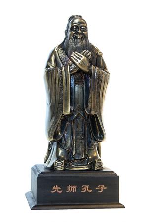 Statua di Santo Confucio Archivio Fotografico - 85184187