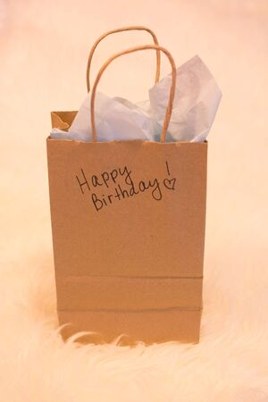 cadeau anniversaire: Anniversaire sac-cadeau