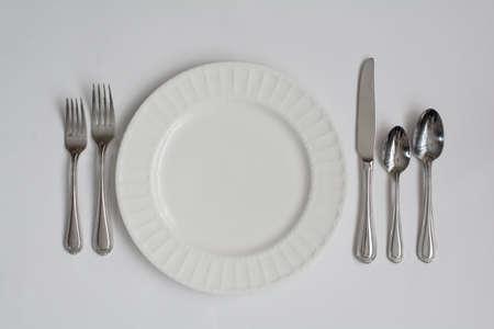 formal dinner: Formal Dinner Place Setting Utensils