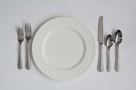 formal place setting: Formal Dinner Place Setting Utensils
