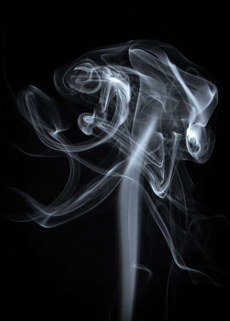 Abstract White Smoke  Background Banco de Imagens