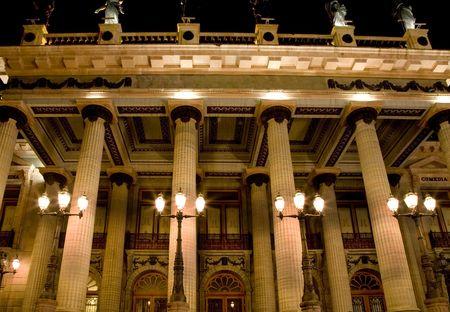 Framous Juarez Theater, Teatro Juarez, Guanajuato, Mexico.