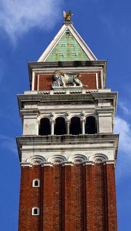 leon alado: Le�n alado Venecia del Campanile campanario San Marcos