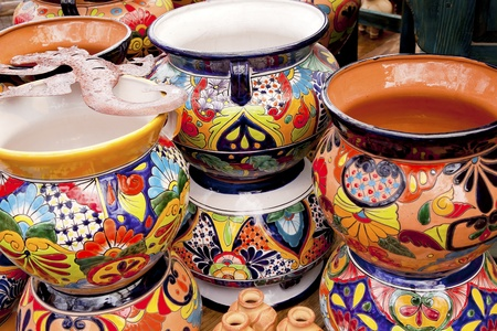 Meixan Colorful Souvenir Ceramic Pots Sedona Arizona