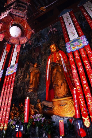 jade buddha temple: Jade Buddha Temple Jufo Si Shanghai China Most famous buddhist temple in Shanghai
