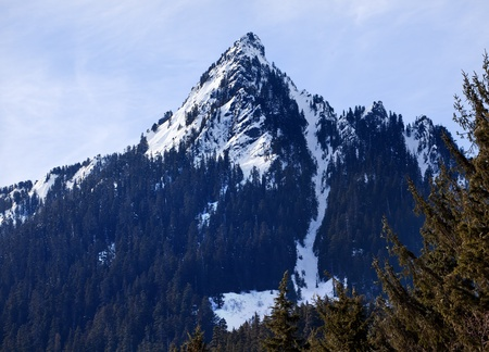 Snow Mountain Snoqualme Pass Washington photo