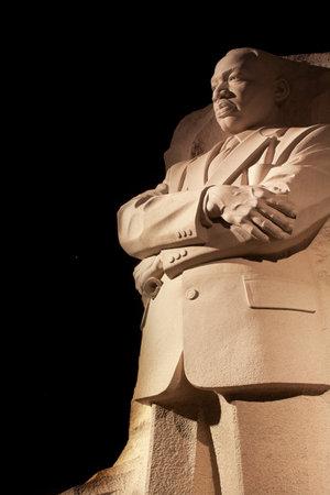 Martin Luther King Jr Pomnik Statua Wenus, Jowisz i Gwiazdy Noc Washington DC jest rzeźbiarz Lei Yixin Publikacyjne