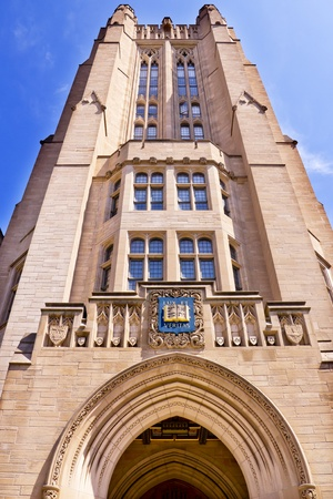 ivy league: Yale University Sheffield Scientific School Building Ornate Victorian Tower New Haven Connecticut