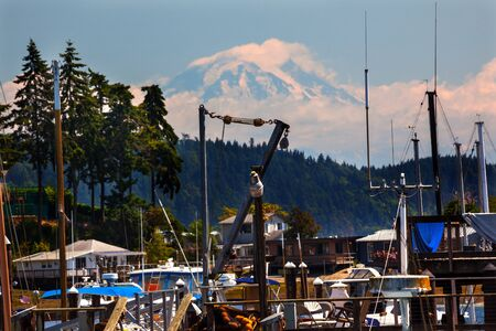 Gig Harbor, Mount Rainier Pierce County, Washington State Pacific Northwest photo