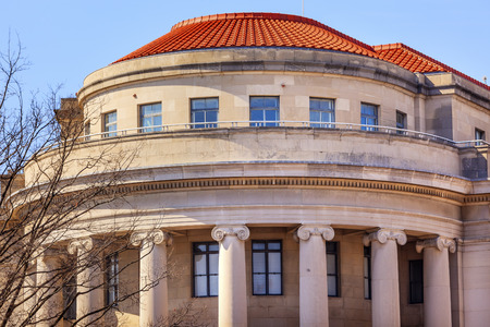 Amerikaanse FTC Federal Trade Commission in Washington DC Stockfoto