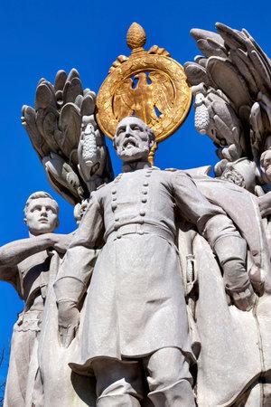 George Gordon Memorial Civil War Statue Pennsylvania Ave Washington DC Public Artwork