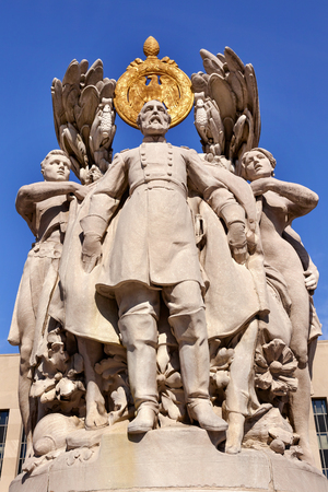 meade: George Gordon Memorial Civil War Statue Pennsylvania Ave Washington DC Public Artwork