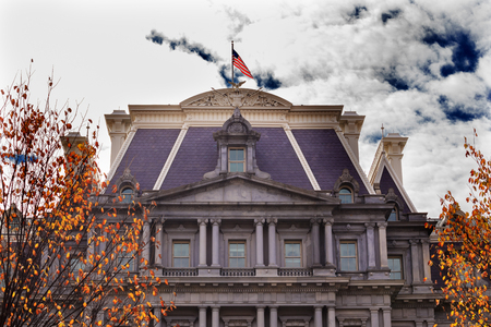 eisenhower: Old Executive Office Building Dwight Eisenhower Building, Vice President Stock Photo