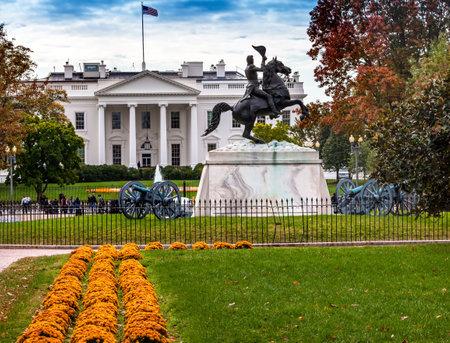 jackson: Andrew Jackson Statue Canons President