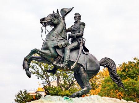 jackson: Andrew Jackson Statue President Editorial