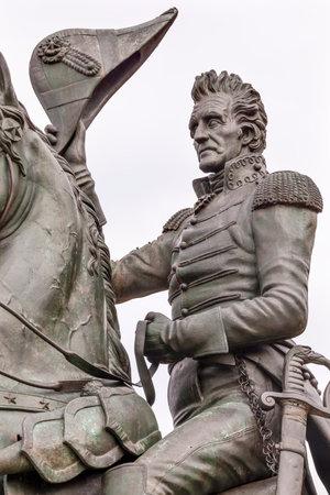 andrew: Andrew Jackson Statue President Editorial