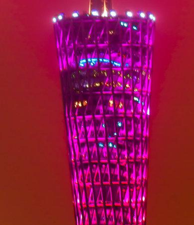 tv tower: Canton Guangzhou TV Tower Guangzhou Guangdong Province China.