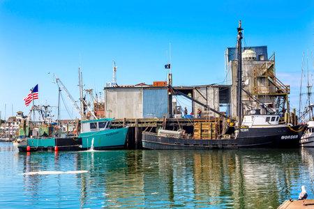 puget sound: Fishing Processor Fishing Boat Westport Grays Harbor Puget Sound Washington State Pacific Northwest Editorial