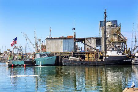 puget sound: Fishing Processor Fishing Boat Westport Grays Harbor Puget Sound Washington State Pacific Northwest Stock Photo