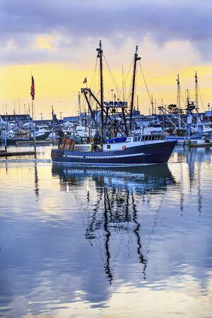 grays: Large Fishing Boat Westport Grays Harbor Puget Sound Washington State Pacific Northwest