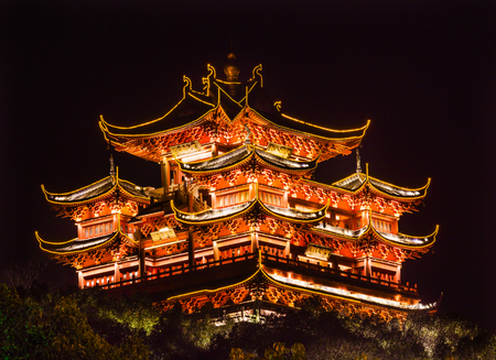 City God Chenghuang Pavilion West Lake Hangzhou Zhejiang China