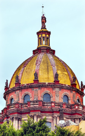 catholic nuns: Red Yellow Dome Convent Immaculate Conception The Nuns San Miguel de Allende, Mexico. Convent of Immaculate Conception was created in 1754.