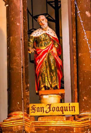 joaquin: Saint Joaquin, Saint Joachim, Statue Marys Father, Jesus Grandfather, Convent Immaculate Conception The Nuns San Miguel de Allende, Mexico. Convent of Immaculate Conception was created in 1754.