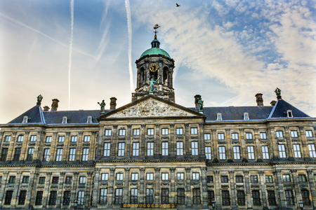 Royal palace of amsterdam stock photos royalty free royal palace royal palace town hall amsterdam holland netherlands opened up as a town hall in 1655 publicscrutiny Choice Image