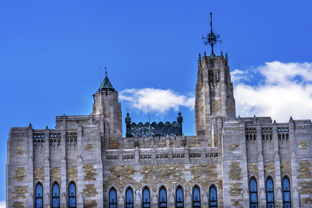 Yale University Sterling Memorial Library Tower New Haven Connecticut Fifth largest library in the United States Editorial