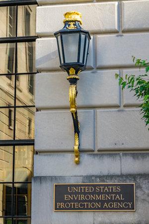Ornate Lamp Federal Triangle Environmental Protectioin Agency EPA Washington DC Editorial