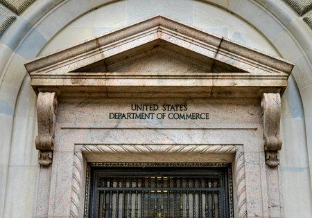 Main Entrance Herbert Hoover Building Commerce Department 14th