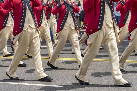 Continental Army Flute Band Memorial Day Parade Washington DC.
