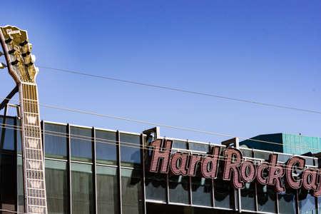 Hard Rock Cafe Las Vegas, Las Vegas Nevada USA, March 30, 2020 報道画像