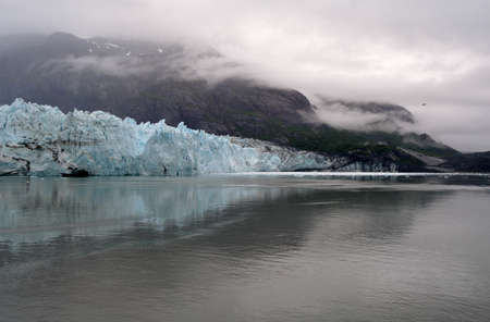Alaska -Glacier 写真素材