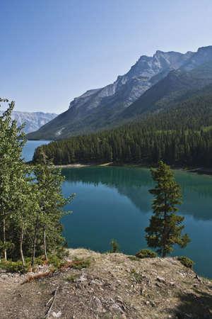 Two Jack Lake - Banff National Park - Alberta - Canada Stock Photo - 6751437