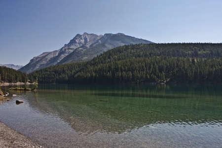 Two Jack Lake - Banff National Park - Alberta - Canada Stock Photo - 6751447