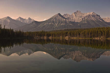 Herbert Lake - Banff National Park - Alberta - Canada photo