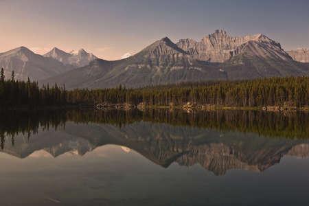 Herbert Lake - Banff National Park - Alberta - Canada Stockfoto