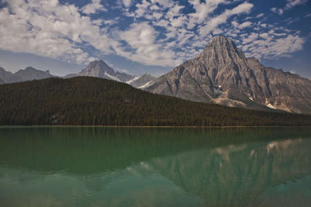 Temple Lake - Jasper National Park - Alberta - Canada