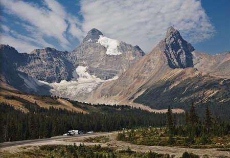 compacted: Columbia Icefield - Jasper National Park - Alberta Canada