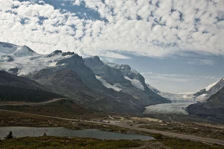 Athabasca Glacier - Jasper National Park - Alberta - Canada Stock Photo - 6751596