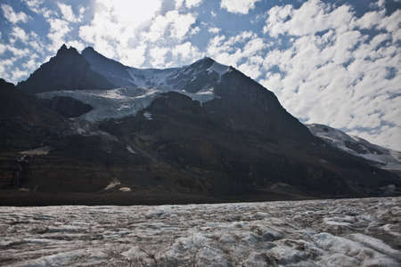 Melting Icefield - Jasper National Park - Alberta - Canada Stock Photo - 6751614