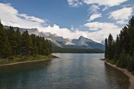 Maligne Lake - Jasper National Park - Alberta - Canada