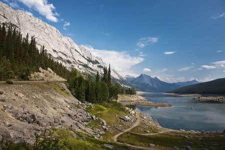 Abraham Lake - Jasper National Park - Alberta - Canada